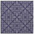 rug #206113 | square blue-violet damask rug