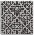 rug #206225 | square red-orange damask rug