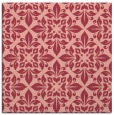 rug #206241 | square pink traditional rug