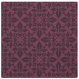 rug #206249 | square purple damask rug