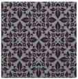 rug #206261   square purple damask rug