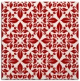 rug #206265 | square red traditional rug