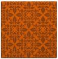 rug #206289   square red-orange traditional rug