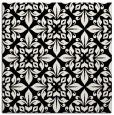 rug #206297 | square black damask rug