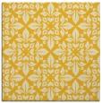 rug #206313 | square yellow damask rug