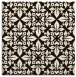 rug #206321 | square brown traditional rug
