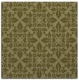 rug #206357 | square light-green traditional rug