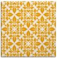 rug #206361   square light-orange traditional rug
