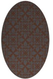 rug #206388 | oval traditional rug