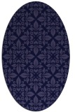 rug #206462 | oval traditional rug