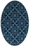 rug #206548 | oval geometry rug