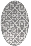 rug #206561 | oval traditional rug