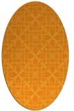 rug #206721 | oval light-orange traditional rug