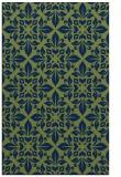rug #206765 |  blue geometry rug