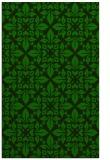 rug #206797    green traditional rug