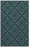 rug #206801 |  blue-green traditional rug