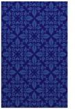 rug #206833 |  blue-violet geometry rug