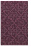 rug #206953 |  purple popular rug