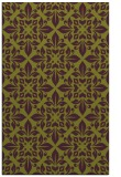 rug #206957 |  green traditional rug