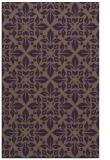 rug #206961 |  mid-brown damask rug