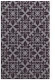 rug #206965 |  purple damask rug