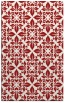 rug #206977    red traditional rug