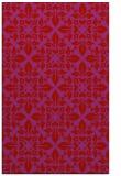 rug #206981 |  red geometry rug