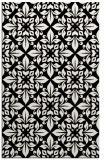 rug #207001    black traditional rug