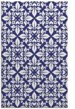 rug #207009 |  blue damask rug