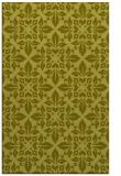rug #207049 |  light-green damask rug