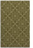 rug #207061    light-green damask rug