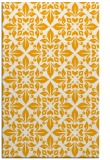 rug #207065 |  light-orange damask rug