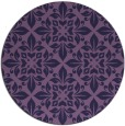 rug #207177 | round purple traditional rug
