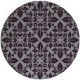 rug #207317 | round purple traditional rug