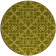 rug #207401 | round light-green damask rug