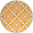 rug #207429 | round light-orange traditional rug