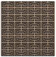 rug #207797 | square black rug