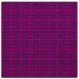 rug #207813 | square pink traditional rug