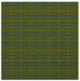 rug #207845 | square green rug