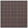 rug #207893 | square blue-violet rug