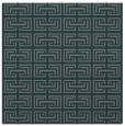 rug #207913 | square green traditional rug