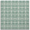 rug #207917 | square green traditional rug