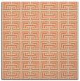 rug #207981 | square orange traditional rug
