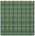 rug #207989 | square yellow rug