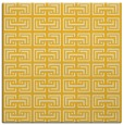 rug #208073 | square yellow traditional rug