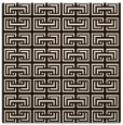 rug #208081 | square brown traditional rug