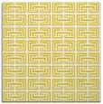 rug #208085 | square yellow rug