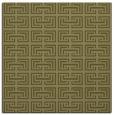 rug #208117 | square light-green traditional rug