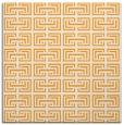 rug #208133 | square light-orange traditional rug