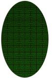 rug #208205 | oval rug